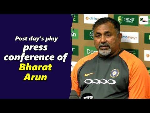 Watch: Bharat Arun's post day 4 press-conference | 4th Test | Australia vs India
