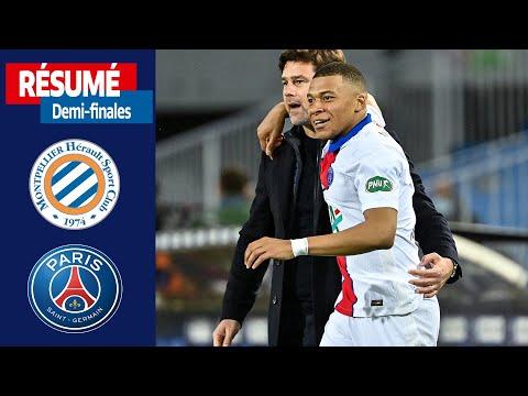 Demi-finales : Montpellier HSC-Paris-SG (2-2, 5 tab à 6), le résumé I Coupe de France 2020-2021