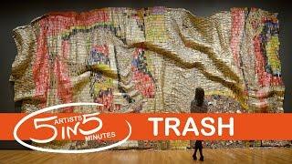 TRASH | 5 Artists in 5 Minutes | LittleArtTalks