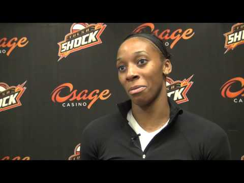 "Tulsa Shock profile - Badge of ""Glory"""