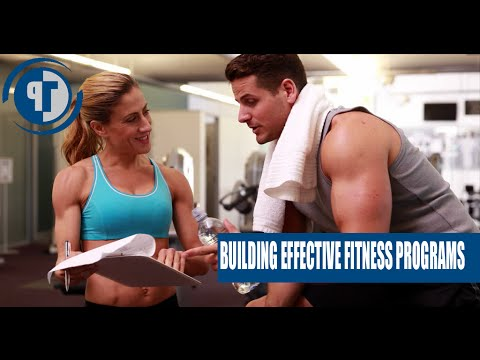 Building effective fitness programs for your clients