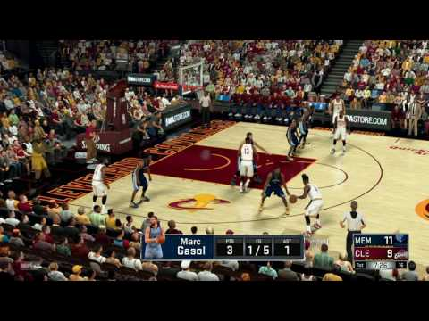 NBA - Memphis Grizzlies vs Cleveland Cavaliers - Full Game - Simulation Nation