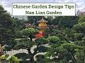 Chinese Garden Design Tips