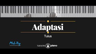 Download Mp3 Adaptasi - Tulus  Karaoke Piano - Male Key