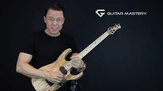 The two best sweep picking exercises there is - Triads lessons