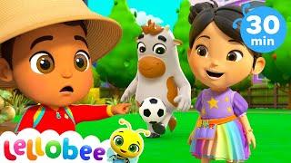 Old Macdonald! | +More Lellobee City Farm - Cartoons & Kids Songs | Learning Videos