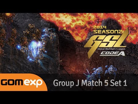Code A Group J Match 5 Set 1, 2014 GSL Season 2 - Starcraft 2