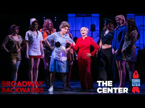 "Florence Henderson sings ""There's Nothing Like a Dame""  - Broadway Backwards 2015"
