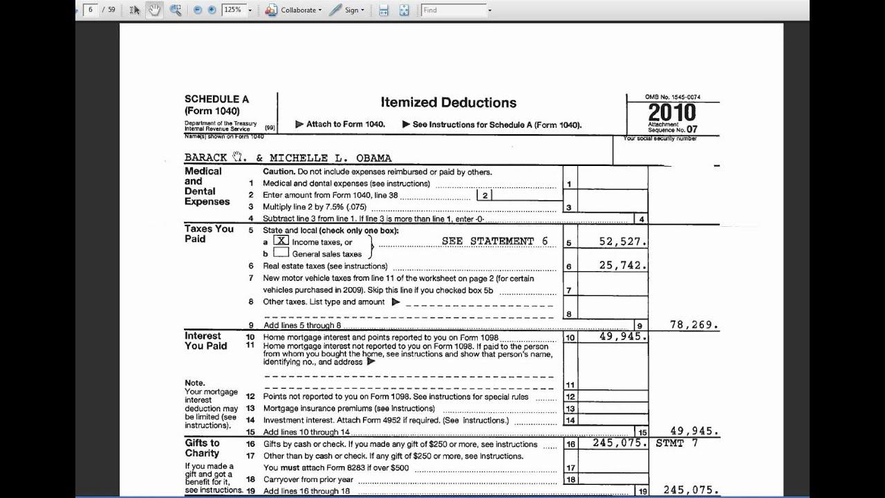 Barack obamas 2010 tax return youtube barack obamas 2010 tax return falaconquin