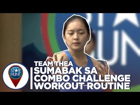 Camp Star Hunt: Team Thea, sumabak sa combo challenge workout routine