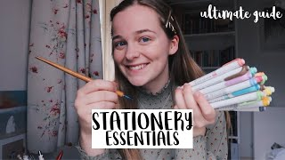 MY STATIONERY ESSENTIALS: A Complete Guide for Students