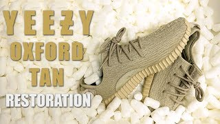 Restoring Yeezy Oxford Tan's - Restorations With Vick