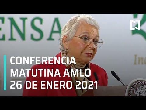 Conferencia matutina AMLO / 26 de enero 2021