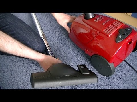 Hoover Microspace SC110 Bagged Cylinder Vacuum Cleaner Full Review & Demonstration