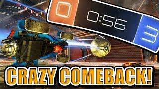 SquiddyPlays - ROCKET LEAGUE! - CRAZY COMEBACK!!