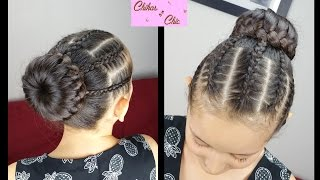 Braided Headband/Bun | Braided Hairstyles | Cute Girly Hairstyles