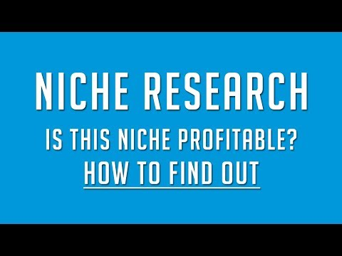 Step By Step Process of Profitable Niche Selection - Webinar Part 1