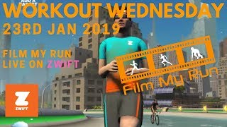 Workout Wednesday | Film My Run LIVE