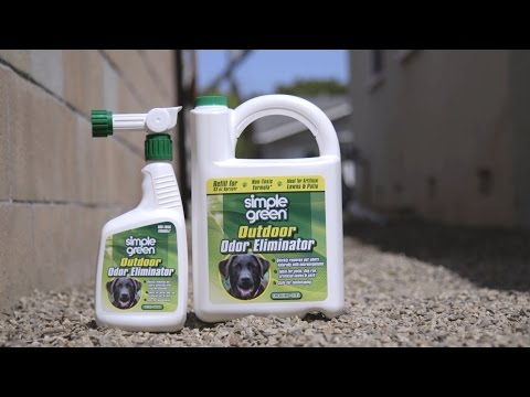 Simple Green Outdoor Odor Eliminator For Yards, Patios & Artificial Turf