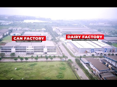 BIG Aerial Progress Can & Dairy Factories July 2021