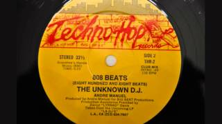 "The Unknown D.J. - ""808 Beats (Club Mix)"""