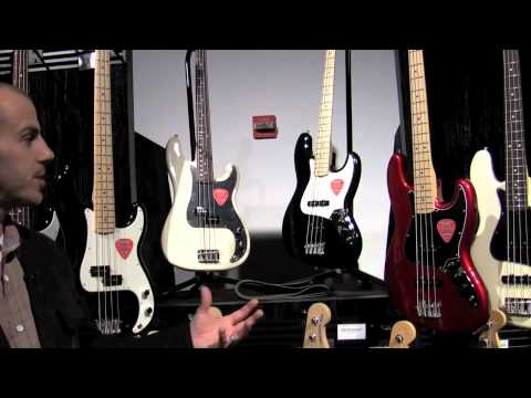 Fender American Special Basses - Sweetwater NAMM 2011