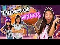 Types of Winners - Funny Comedy Skits - YouTube Kids // GEM Sisters