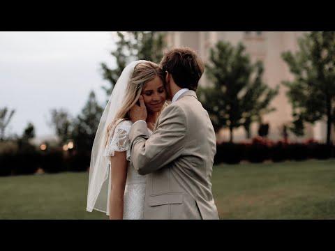 Justin & Bre Wedding | Payson Temple | Backyard Wedding Reception