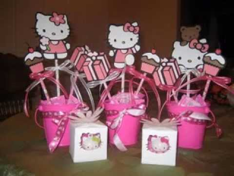 Diy Hello Kitty Party Decorations Ideas Youtube