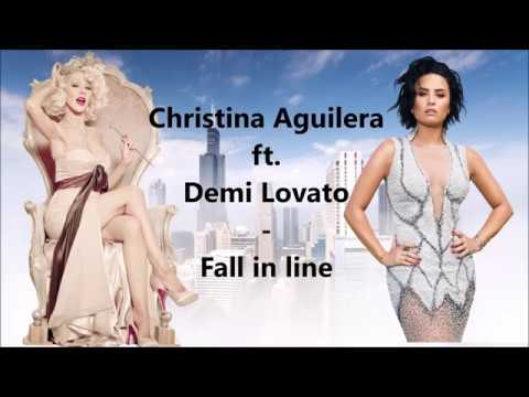 Christina Aguilera - Fall In Line ft. Demi Lovato - Magyar felirat - Lyrics