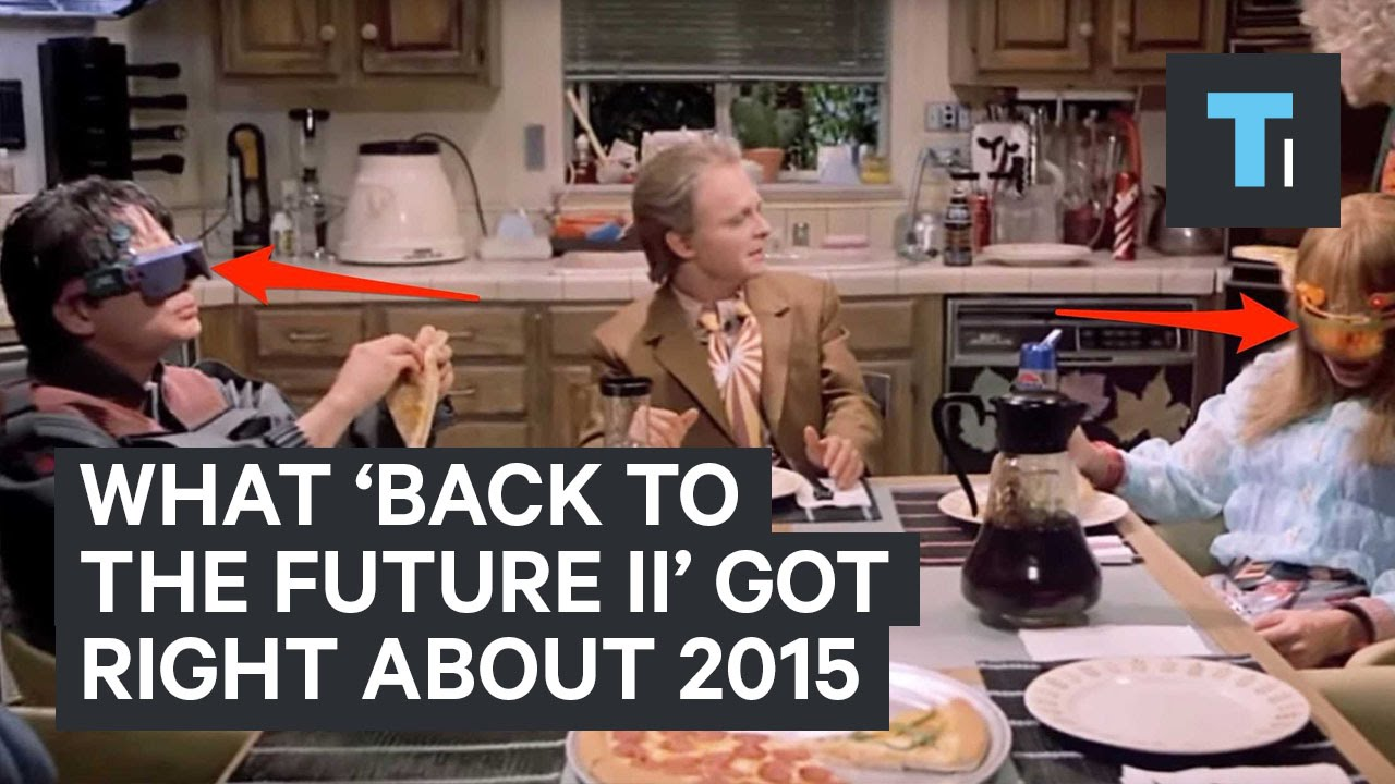 What 'Back to the Future II' got right