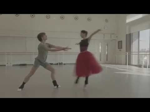 DANCER - Exclusive outtake from the film - Sergei Polunin and Tamara Rojo rehearsing