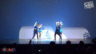Stockholm Salsa Dance Performance | AISC 2016
