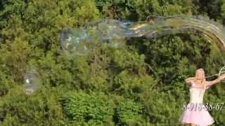 Мыльные пузыри на улице 89183867222