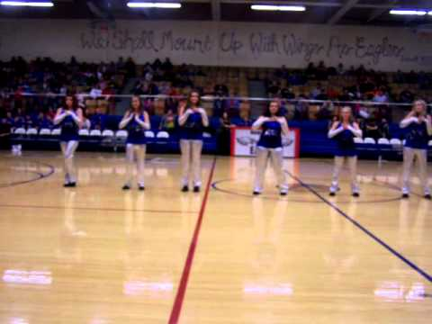 130201 Winter Homecoming Routine (Hugoton High School Dance Team)