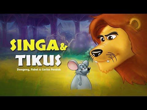 Singa Dan Tikus - Kartun Anak Cerita2 Dongeng Anak Bahasa Indonesia - Cerita Anak Anak