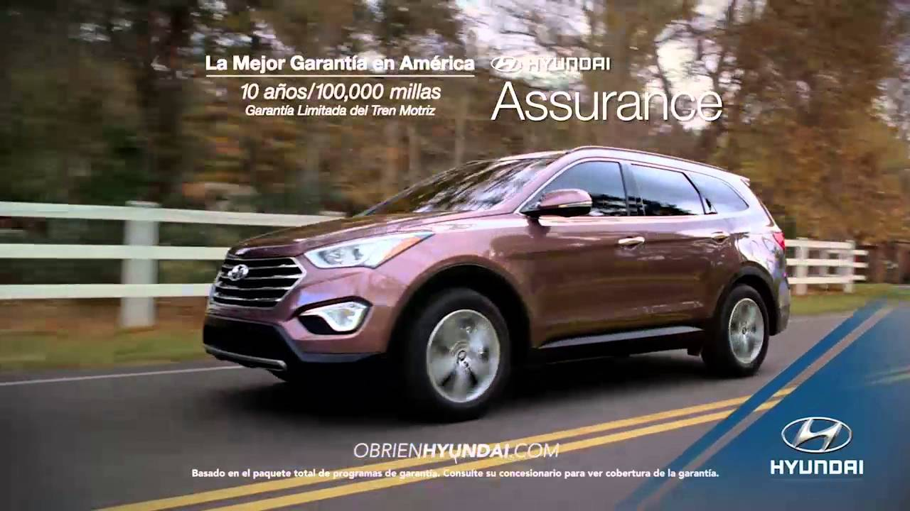 o 39 brien hyundai of fort myers 2016 santa fe overview spanish youtube. Black Bedroom Furniture Sets. Home Design Ideas