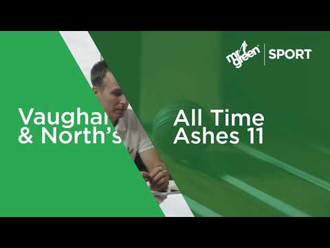 All Time Ashes 11 by Michael Vaughan & Marcus North