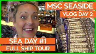 Ultimate Guide to the MSC Seaside | MSC Seaside Cruise Vlog Day 02