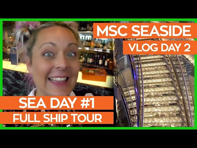 MSC Seaside Ship Tour | The Ultimate Guide to the MSC Seaside & Yacht Club | MSC Cruises Vlog Day 02