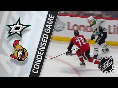 Dallas Stars vs Ottawa Senators – Mar. 16, 2018 | Game Highlights | NHL 2017/18. Обзор