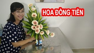 HOW TO MAKE Flower Arragement with Gerbera ? Episode 7
