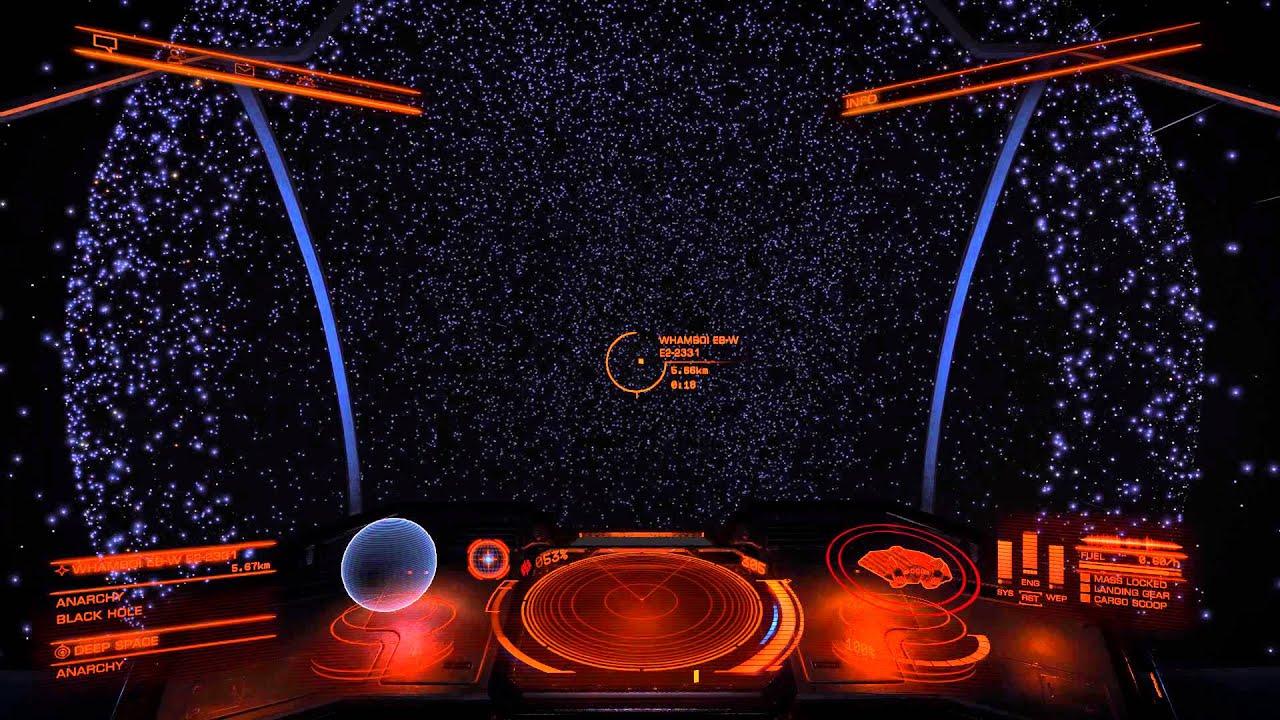 Elite: Dangerous - going THROUGH a Black Hole - YouTube