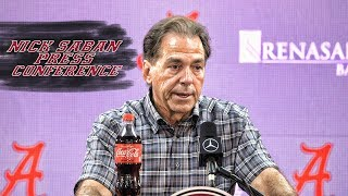 Nick Saban talks about his favorite rivalry games