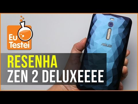 Zenfone 2 Deluxe: 128GB e uma linda case! - EuTestei Brasil