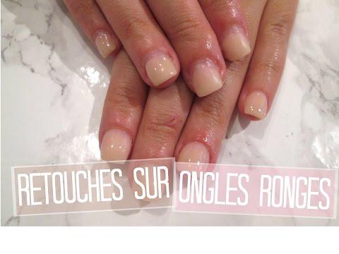 TUTO Retouches en Acrylique Ongles Rongés - Acrylique | Melissa Easy Nails