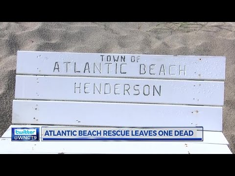 Atlantic Beach Drowning-Rip Currents