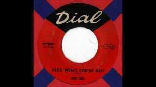Watch Joe Tex Hold What Youve Got video