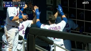 6/22/16: Reynolds' first career homer lifts Mets