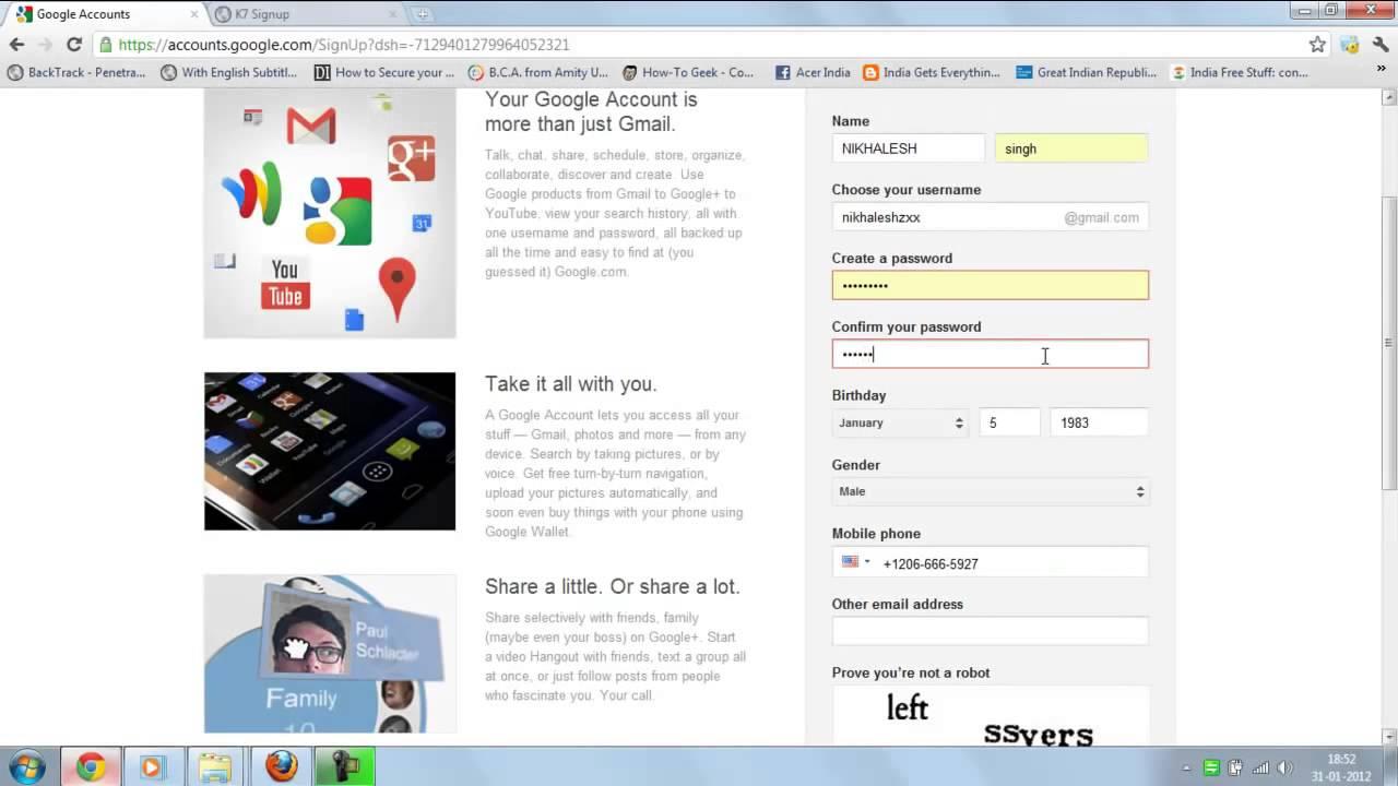 Bypass 2 step verification google